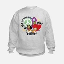 Stop Animal Abuse PLP Sweatshirt
