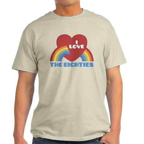 I Love Eighties Light T-Shirt