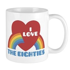 I Love Eighties Mug