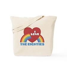 I Love Eighties Tote Bag