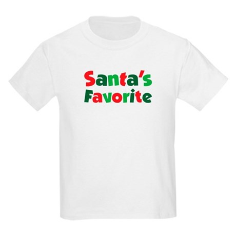 Santa's Favorite Kids Light T-Shirt