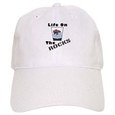 On Rocks Glass Baseball Cap