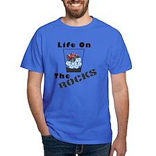 On Rocks Glass T-Shirt