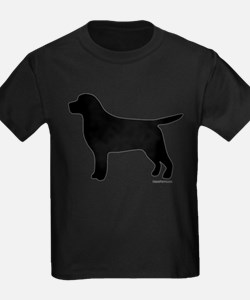 Black Lab Silhouette T