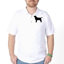 Black Lab Silhouette T-Shirt