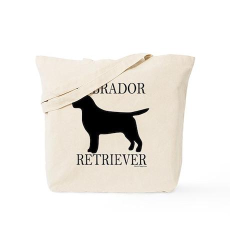 Black Labrador Retriever Tote Bag