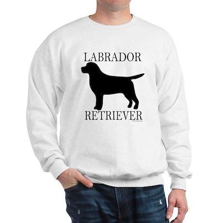 Black Labrador Retriever Sweatshirt