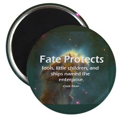 Star Trek fate protects Magnet