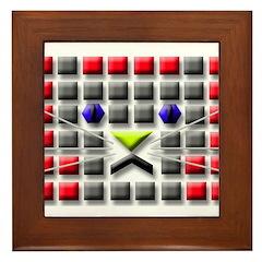 Cat Tiles Framed Tile