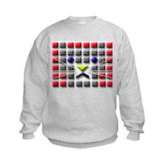Cat Tiles Sweatshirt