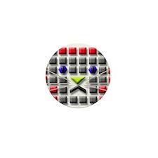 Cat Tiles Mini Button