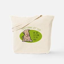 Funny Vet Tech Tote Bag