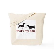 Beagle/Basset Tote Bag