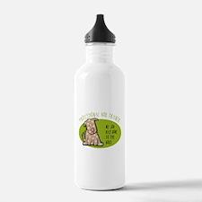 Funny Dog Trainer Water Bottle