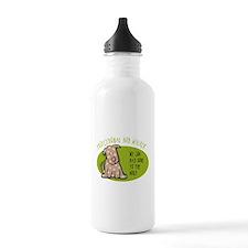 Funny Dog Walker Water Bottle