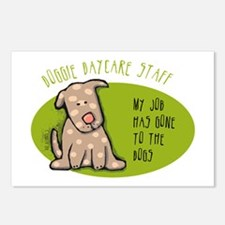 Funny Doggie Daycare Postcards (Package of 8)