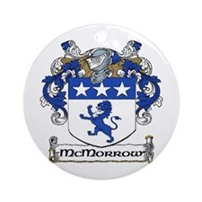 McMorrow Coat of Arms Ornament (Round)