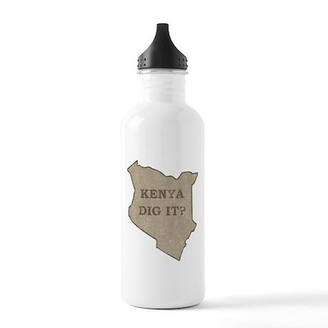 Kenya Dig It Stainless Water Bottle 1.0L