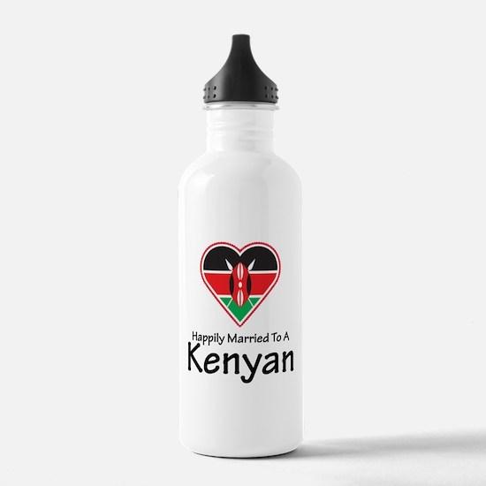 Happily Married Kenyan Water Bottle