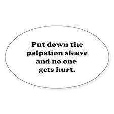 Palpation Sleeve Decal