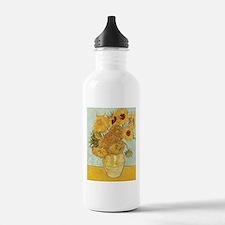 Van Gogh Sunflowers Water Bottle