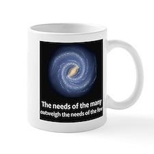 The needs of the many Mug