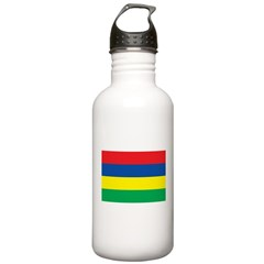 Mauritius Flag Water Bottle