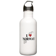 I Love Norway Water Bottle