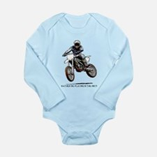 Rather be playing in the dirt Long Sleeve Infant B
