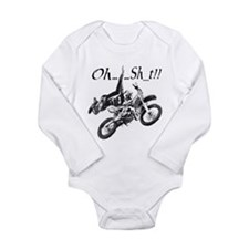 OH......Sh_t!! Long Sleeve Infant Bodysuit