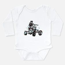 ATV Racing Long Sleeve Infant Bodysuit