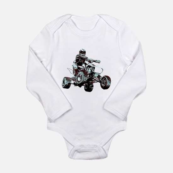 ATV Racing Long Sleeve Infant Bodysuit