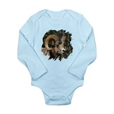 Bighorn Sheep - Ram Long Sleeve Infant Bodysuit