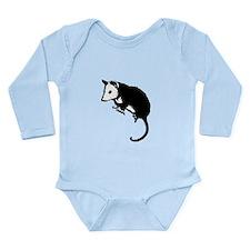 Possum Silhouette Long Sleeve Infant Bodysuit