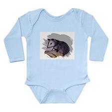 Baby Possum Long Sleeve Infant Bodysuit