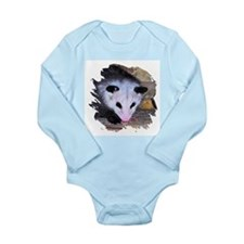Virginia Opossum Long Sleeve Infant Bodysuit