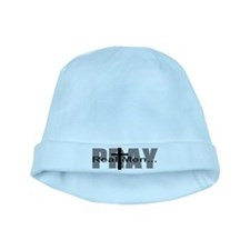 Real Men Pray baby hat
