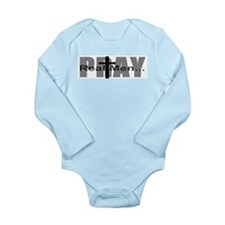 Real Men Pray Onesie Romper Suit
