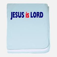 Jesus is Lord baby blanket