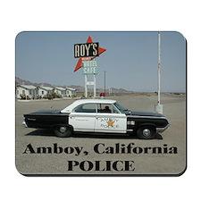 Amboy Police Mousepad