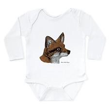 Fox Long Sleeve Infant Bodysuit