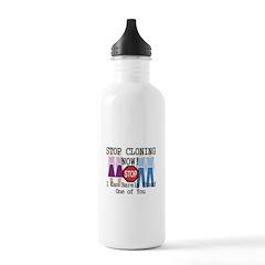 Stop Cloning Water Bottle