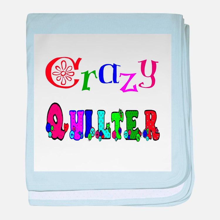 Crazy Quilter baby blanket
