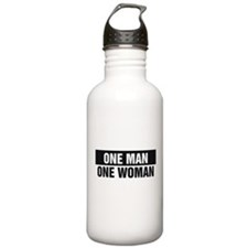 One Man One Woman Water Bottle