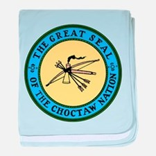 Great Seal of the Choctaw baby blanket