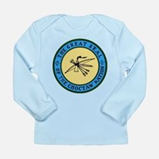 Great Seal of the Choctaw Long Sleeve Infant T-Shi