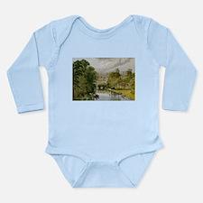 Warwick Castle Long Sleeve Infant Bodysuit