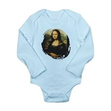 Mona Lisa Long Sleeve Infant Bodysuit