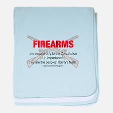 Anti Gun Control baby blanket