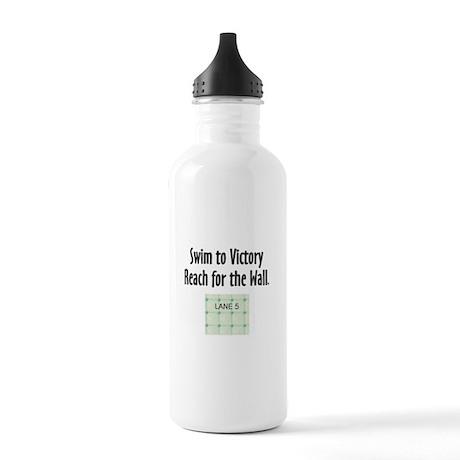 Swim Slogan Stainless Water Bottle 1.0L